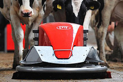 Lely Discovery Spaltenreiniger